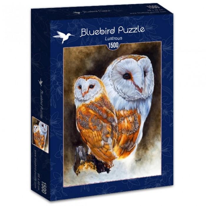 Puzzle Bluebird Lustroso de 1500 Piezas