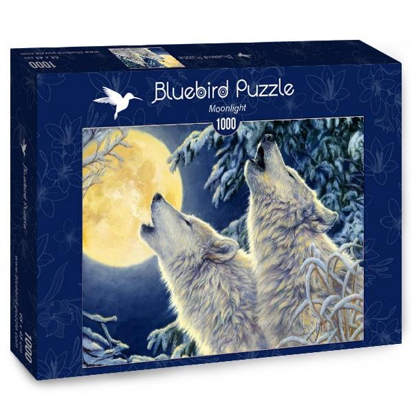 Puzzle Bluebird Luz de Luna de 1000 Piezas