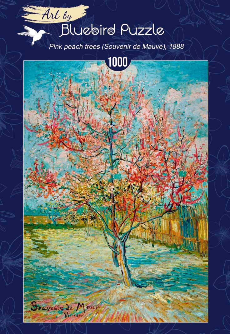 Puzzle Bluebird Melocotonero en Flor de 1000 Piezas