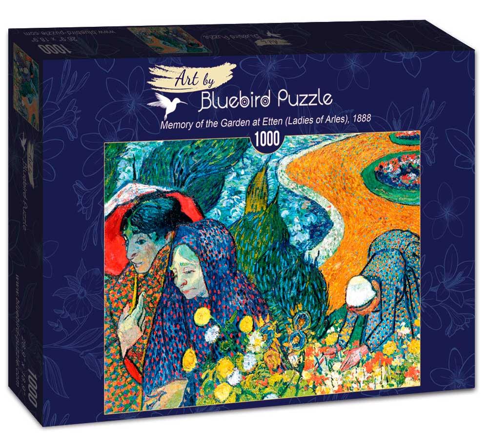 Puzzle Bluebird Memoria del Jardín del Edén de 1000 Piezas