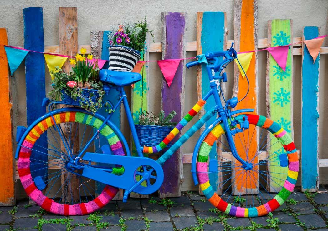 Puzzle Bluebird Mi Preciosa Bici de Colores de 1000 Piezas