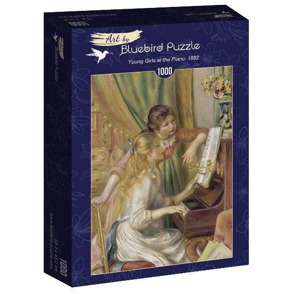 Puzzle Bluebird Muchachas al Piano de 1000 Piezas