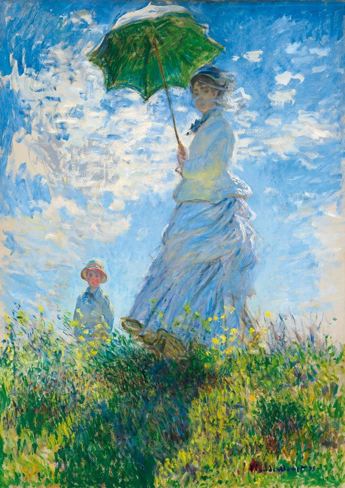 Puzzle Bluebird Mujer con Sombrilla de 1000 Piezas