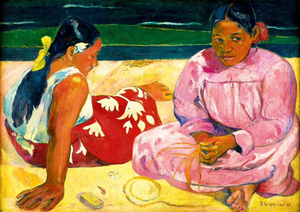 Puzzle Bluebird Mujeres de Tahití de 1000 Piezas