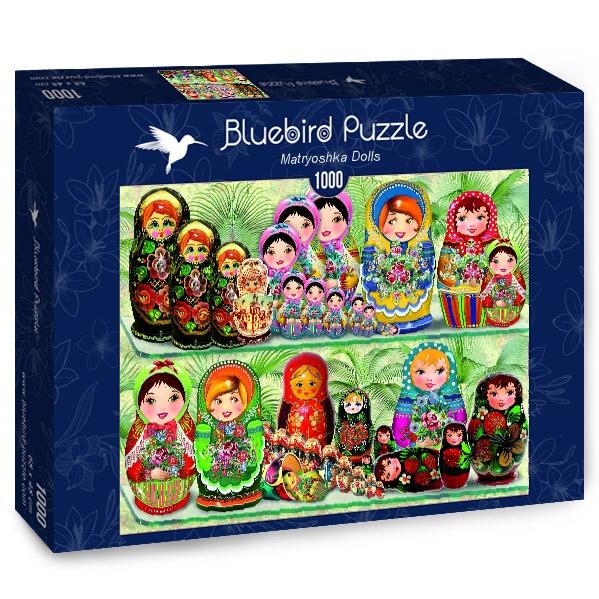 Puzzle Bluebird Muñecas Matryoshka de 1000 Piezas