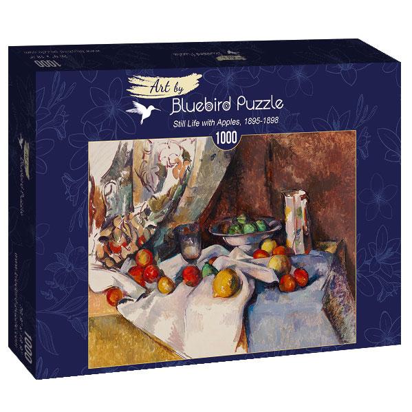 Puzzle Bluebird Naturaleza Muerta con Manzanas de 1000 Pzs
