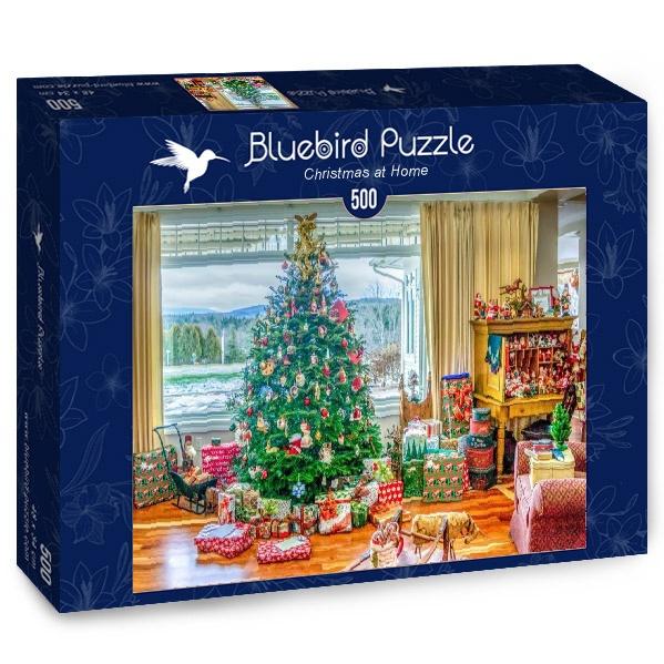 Puzzle Bluebird Navidad en Casa de 500 Piezas
