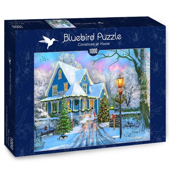 Puzzle Bluebird Navidades En Casa de 1000 Piezas