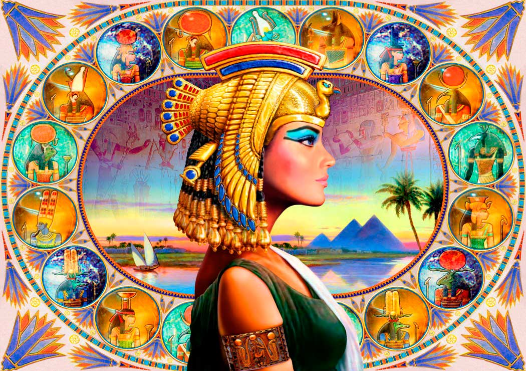 Puzzle Bluebird Nefertari de 1000 Piezas