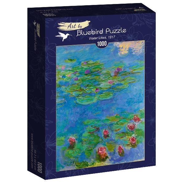 Puzzle Bluebird Nenúfares de 1000 Piezas