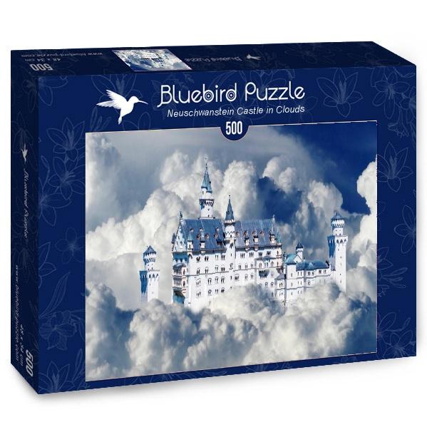 Puzzle Bluebird Neuschwanstein Castillo en las Nubes de 500 Pzs