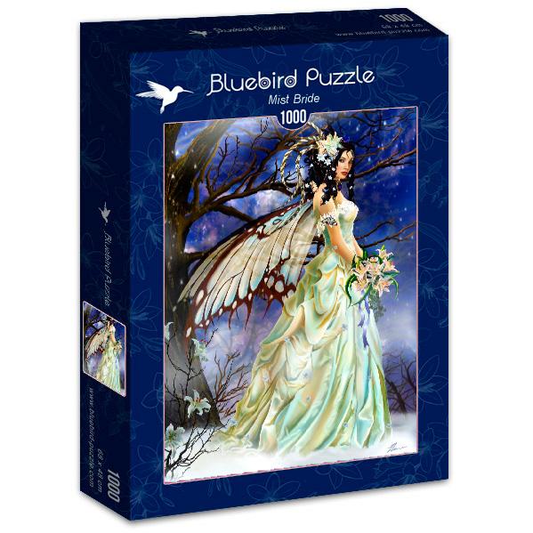 Puzzle Bluebird Novia Entre la Niebla de 1000 Piezas
