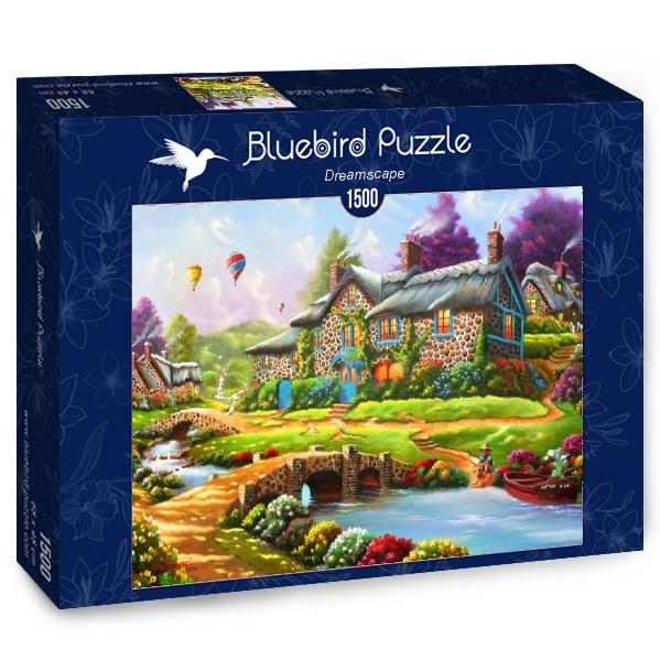 Puzzle Bluebird Paisaje de Ensueño de 1500 Piezas