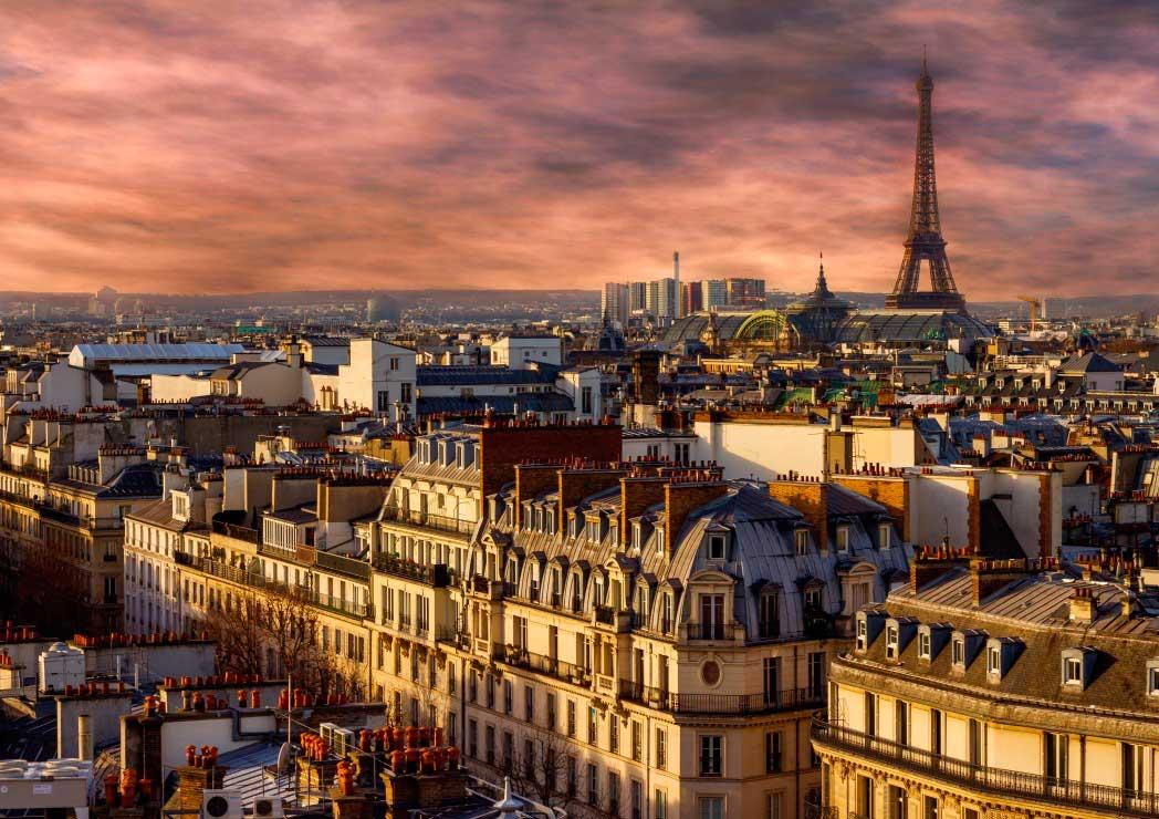 Puzzle Bluebird París, Francia de 1000 Piezas