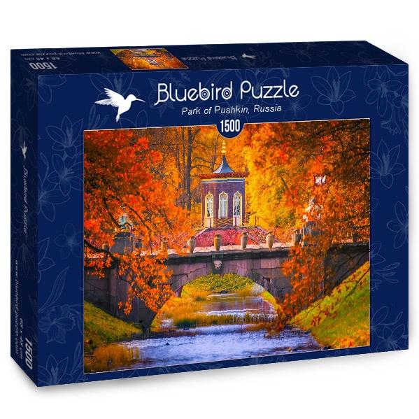 Puzzle Bluebird Parque de Pushkin, Rusia de 1500 Pzs