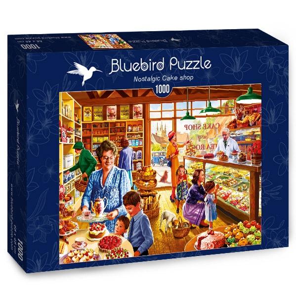 Puzzle Bluebird Pastelería Nostálgica de 1000 Piezas
