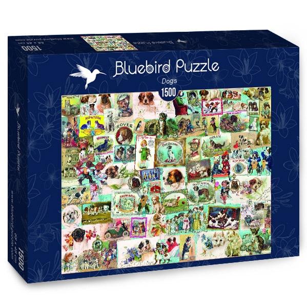 Puzzle Bluebird Perros de 1500 Piezas