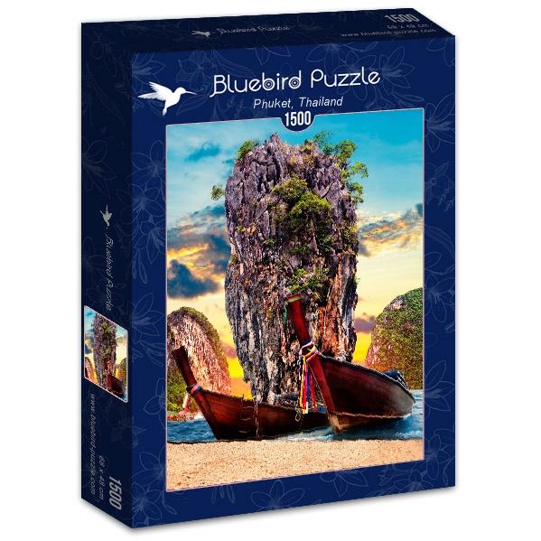 Puzzle Bluebird Phuket, Tailandia de 1500 Piezas