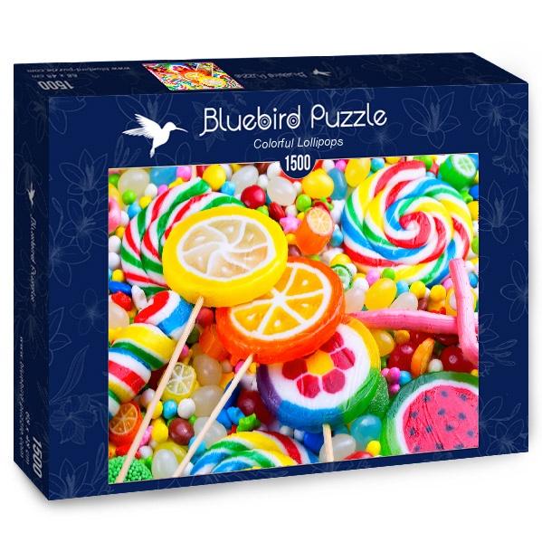 Puzzle Bluebird Piruletas de Colores de 1500 Piezas
