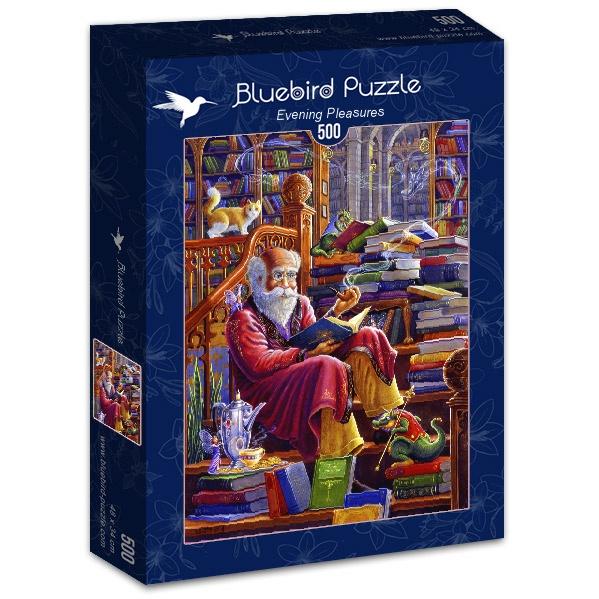 Puzzle Bluebird Placeres Nocturnos de 500 Piezas