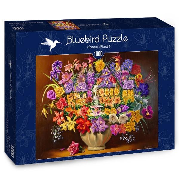 Puzzle Bluebird Plantas de Casa de 1000 Piezas