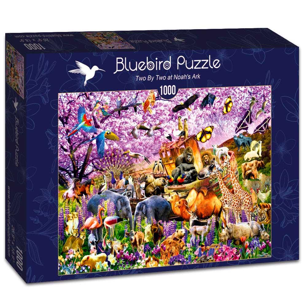 Puzzle Bluebird Por Parejas al Arca de Noé de 1000 Piezas