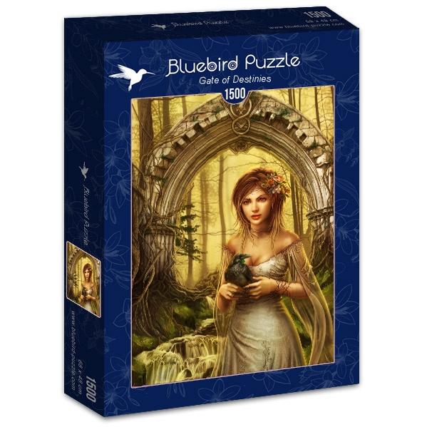 Puzzle Bluebird Portal de Destinos de 1500 Piezas