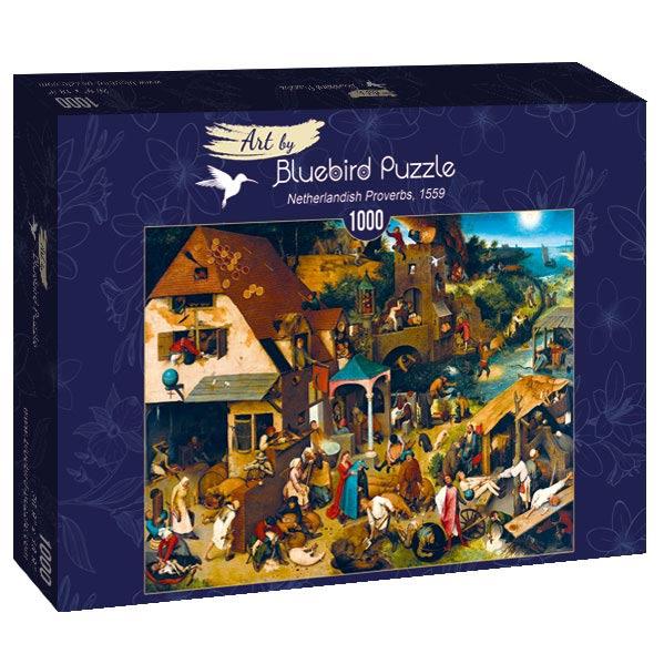 Puzzle Bluebird Proverbios Flamencos de 1000 Piezas