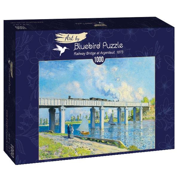 Puzzle Bluebird Puente Ferroviario en Argentuil de 1000 Piezas