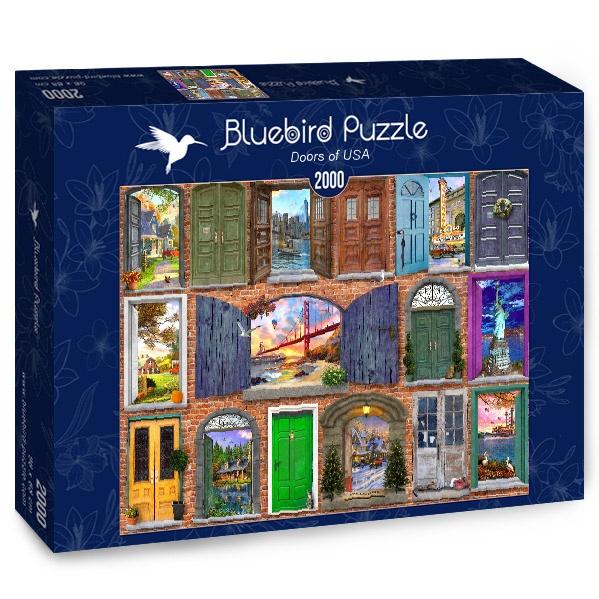 Puzzle Bluebird Puertas de Estados Unidos de 2000 Piezas