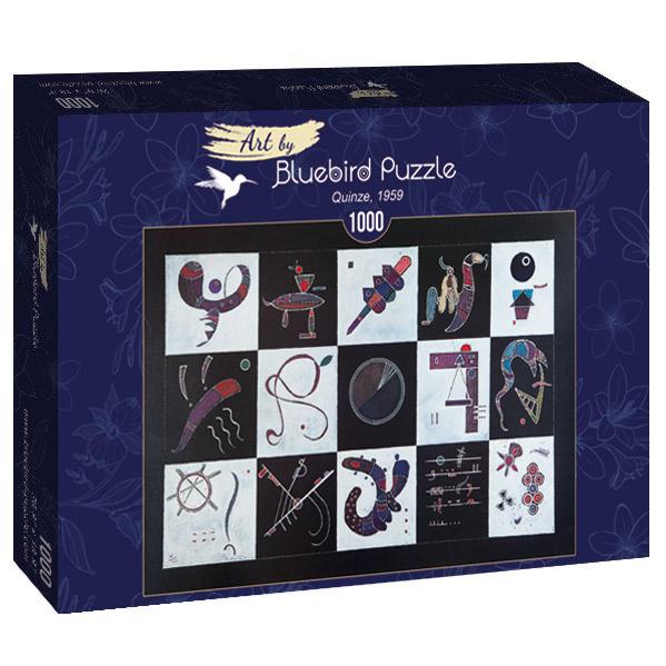 Puzzle Bluebird Quinze de 1000 Piezas