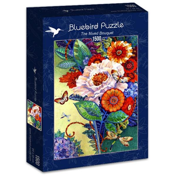 Puzzle Bluebird Ramo Mixto de 1500 Piezas