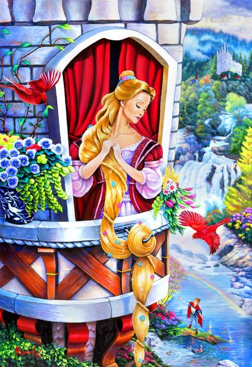 Puzzle Bluebird Rapunzel de 260 Piezas