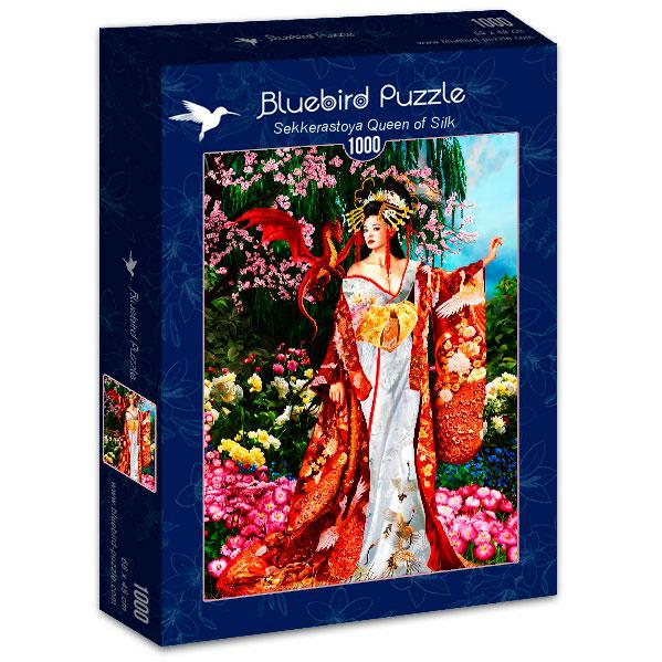 Puzzle Bluebird Reina de la Seda de 1000 Piezas