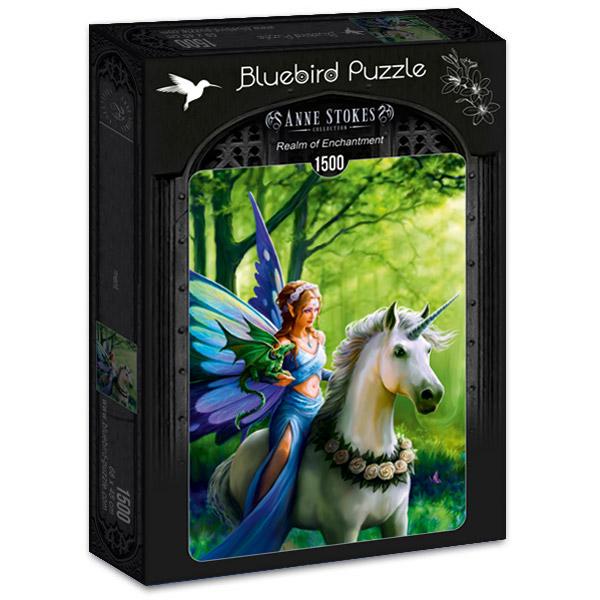 Puzzle Bluebird Reino del Encantamiento de 1500 Piezas