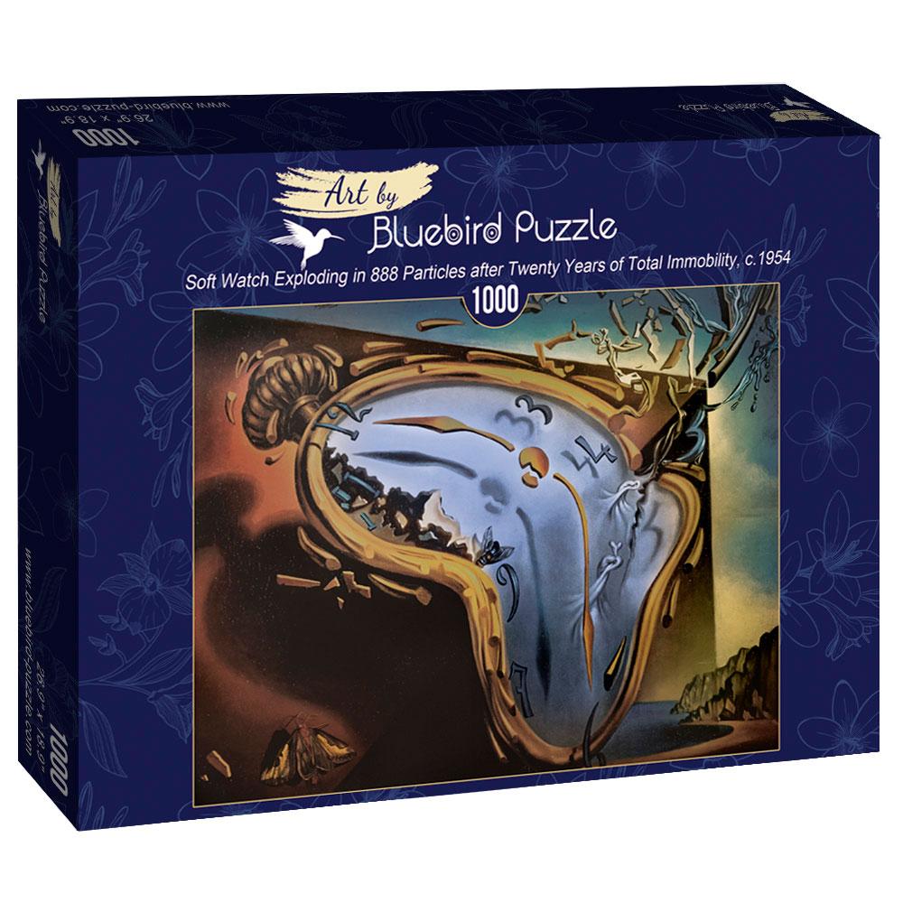 Puzzle Bluebird Reloj Blando Explota en 888 Partículas de 1000 P