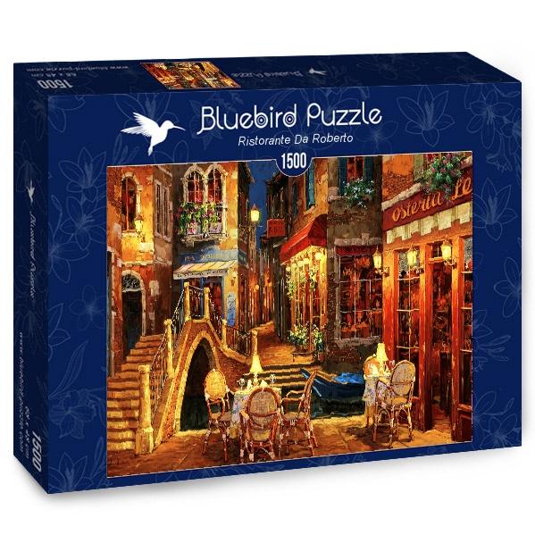 Puzzle Bluebird Restaurante Da Roberto de 1500 Piezas