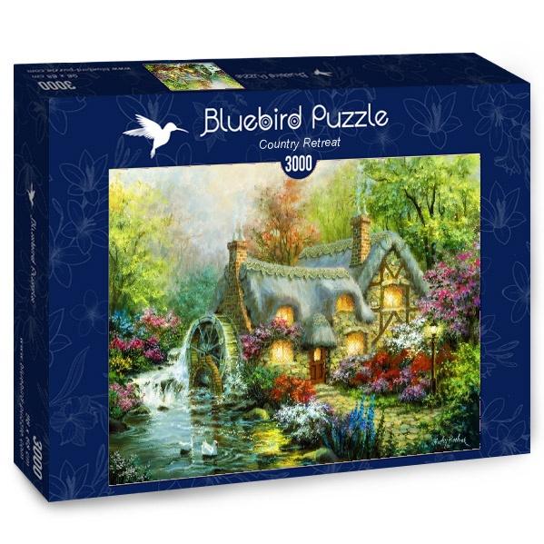 Puzzle Bluebird Retiro Campestre de 3000 Piezas