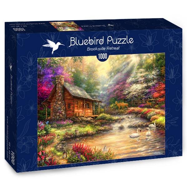 Puzzle Bluebird Retiro en el Arroyo de 1000 Piezas