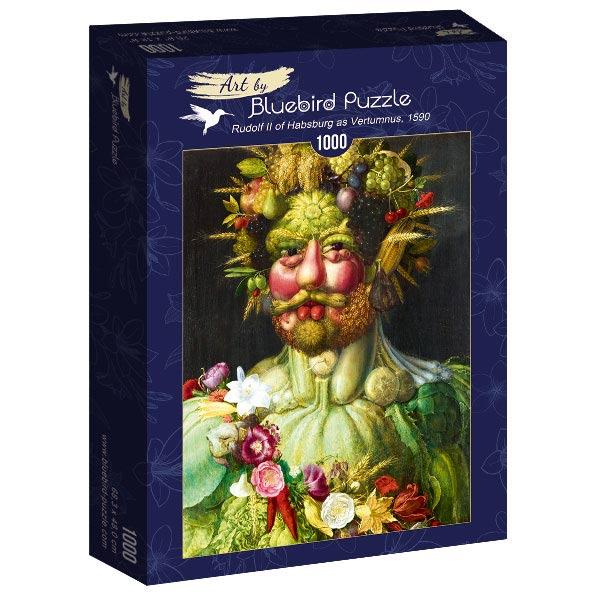 Puzzle Bluebird Retrato de Rodolfo II en Traje de Vertumno 1000P