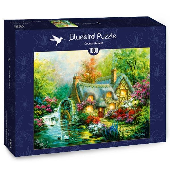 Puzzle Bluebird Retriro en el Campo de 1000 Piezas