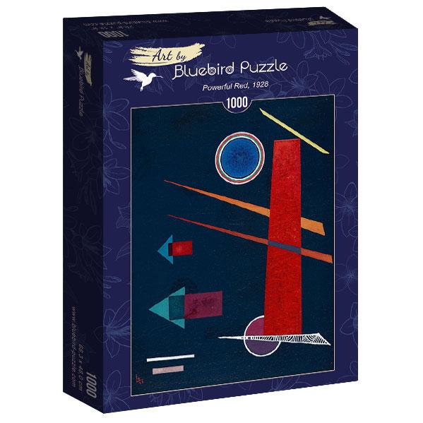 Puzzle Bluebird Rojo Poderoso de 1000 Piezas