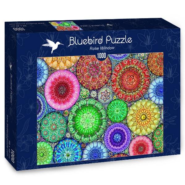 Puzzle Bluebird Rosetón de 1000 Piezas