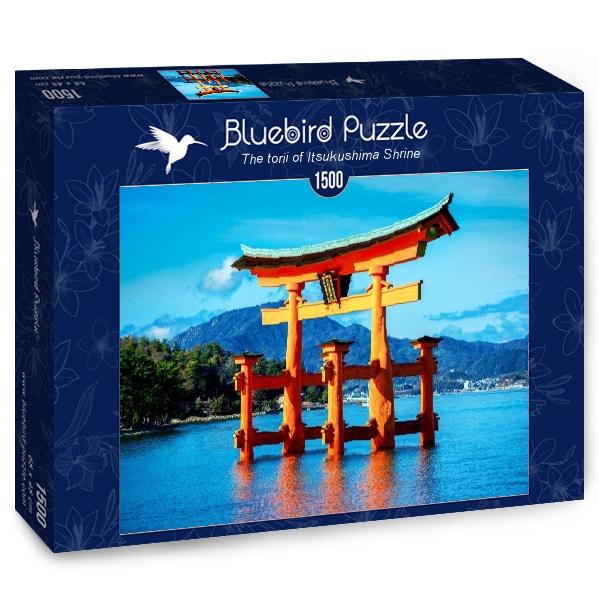 Puzzle Bluebird Santuario Torii de Itsukushima de 1500 Piezas