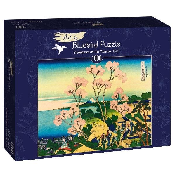 Puzzle Bluebird Shinagawa en el Tokaido de 1000 Piezas