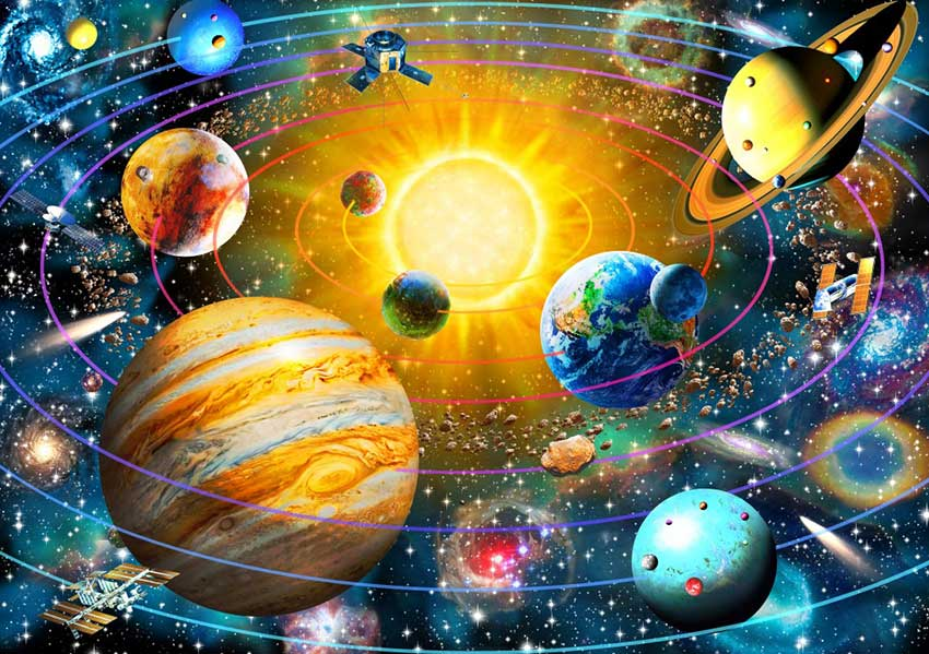Puzzle Bluebird Sistema Solar de 1500 Piezas