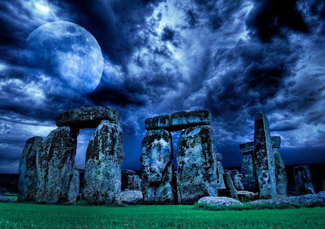 Puzzle Bluebird Stonehenge de 1000 Piezas