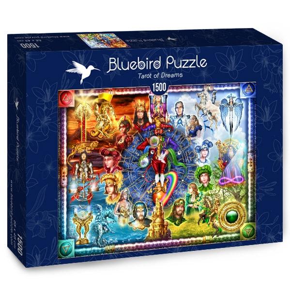 Puzzle Bluebird Tarot de los Sueños de 1500 Piezas