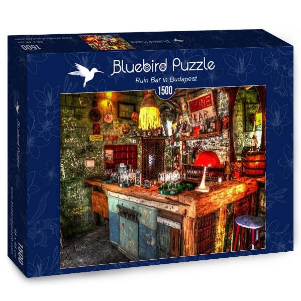 Puzzle Bluebird Tasca de Budapest de 1500 Piezas