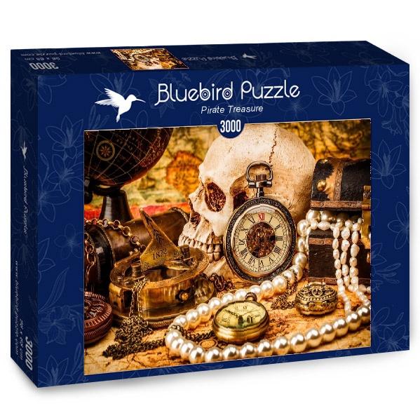 Puzzle Bluebird Tesoro Pirata de 3000 Piezas